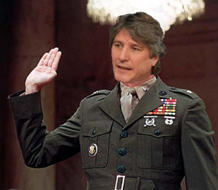 Amado Boudou and Oliver North