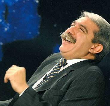 Aníbal Fernández, el hombre que ríe