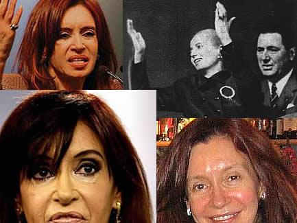 Cristina Fernández Wilhelm... y Eva Perón