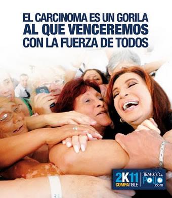 "El ""cáncer"" de Cristina Fernández Wilhelm"