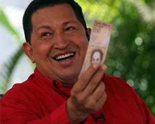 Hugo Chávez y los petrodólares