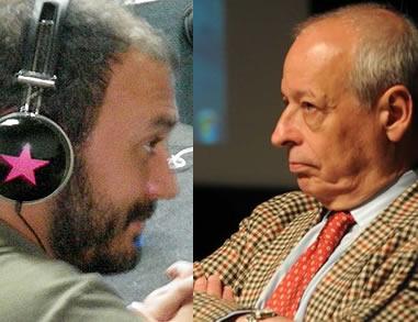 Emilio Ruchansky y Horacio Verbitsky