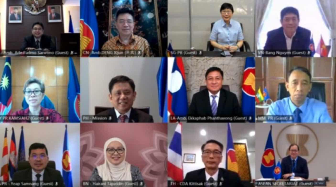 ASEAN, Vietnam, China