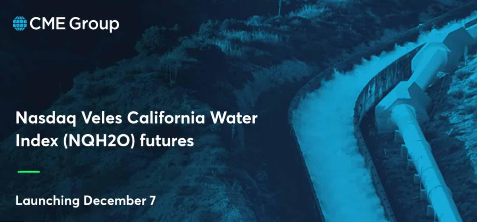Indice NASDAQ Veles, Agua, Precio del agua