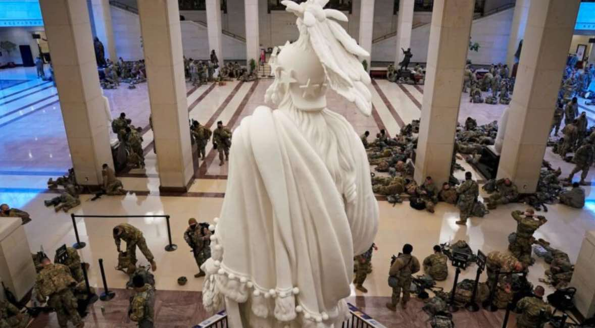 Estados Unidos, Capitolio, Violencia, Donald Trump, Demócratas