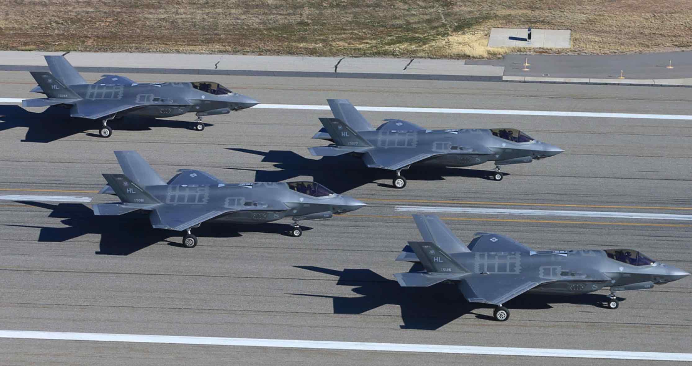 F-35A, Fuerza Aérea de Estados Unidos