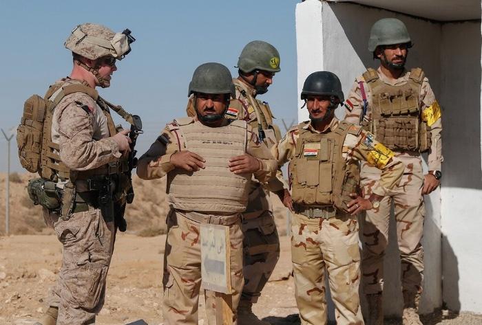 Militares estadounidenses e iraquíes, Oriente Medio, Philip Giraldi