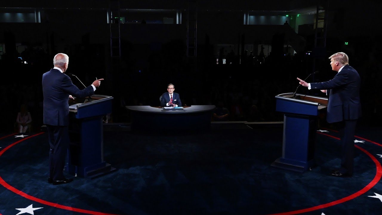Estados Unidos, Debate presidencial, Joe Biden, Donald Trump, Encuestas