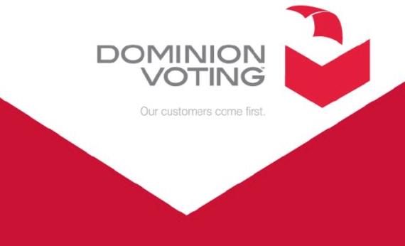 Dominion Voting Systems logo, Fraude electoral, Fraude en Estados Unidos, Joe Biden, Partido Demócrata