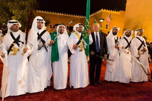 Donald Trump, Bin Salman, Arabia Saudí