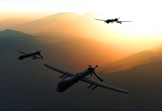 Drones, Estados Unidos, Siria