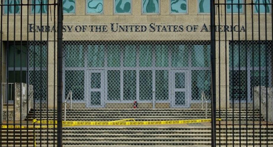 La Habana, Cuba, embajada estadounidense