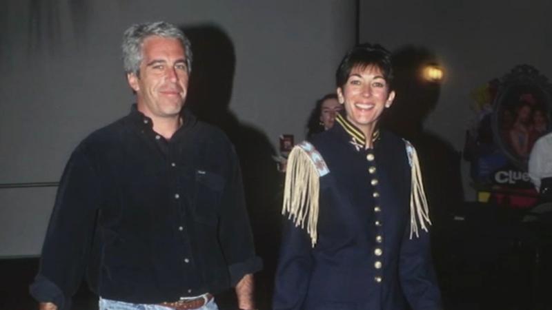 Ghislaine Maxwell y Jeffrey Epstein