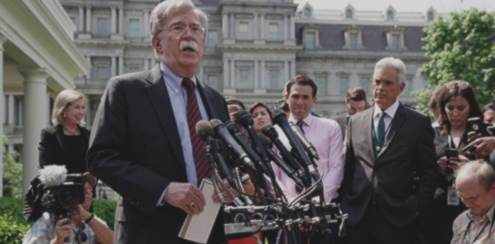 John Bolton, Casa Blanca, Venezuela