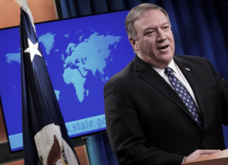 Mike Pompeo, Estados Unidos