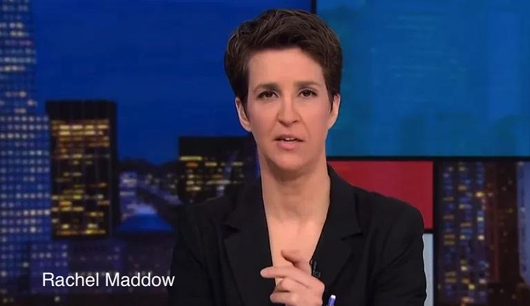 Rachel Maddow, izquierda, Estados Unidos