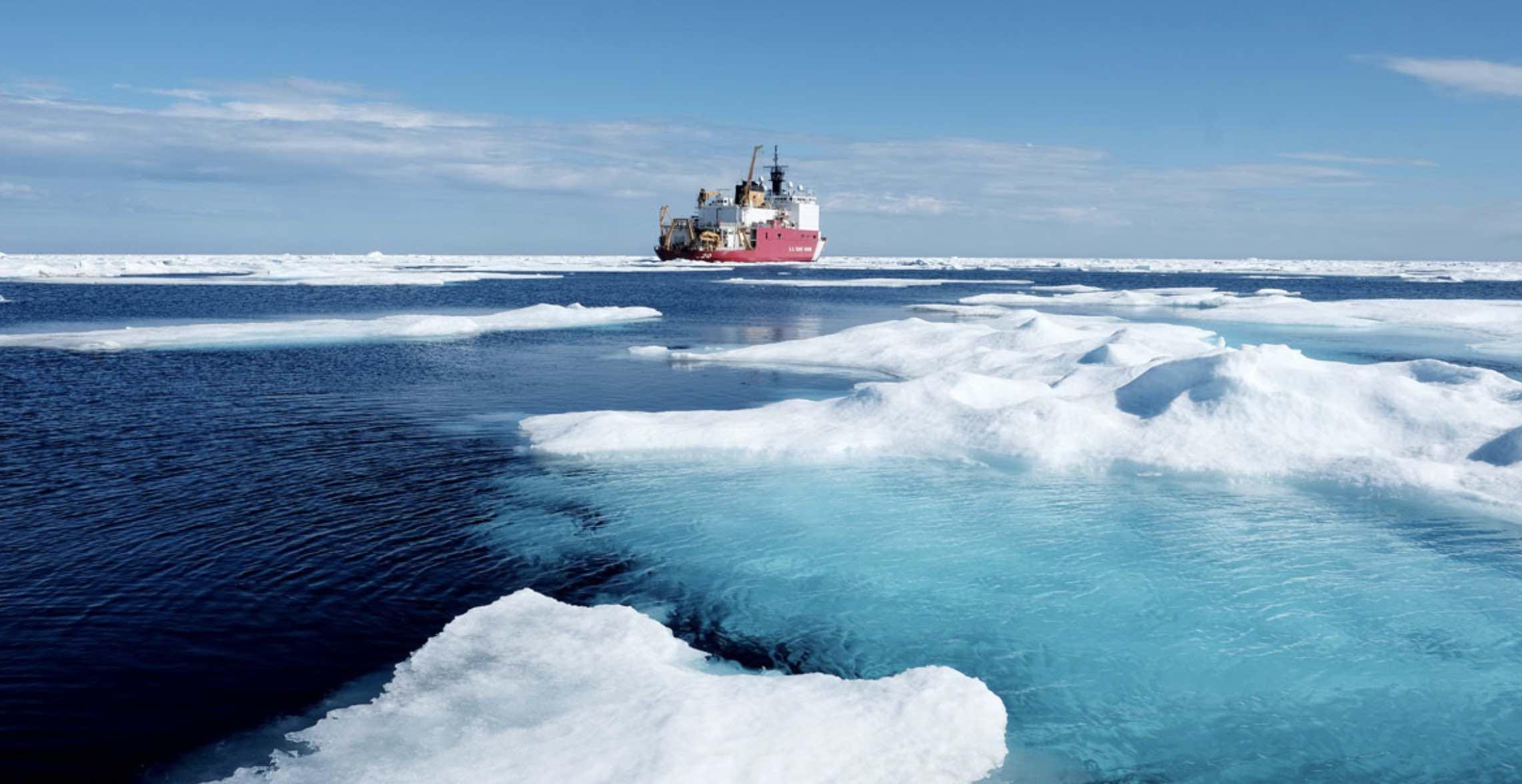 Estados Unidos, Antártida, Circulo Artico, Mar Artico, Rompehielos