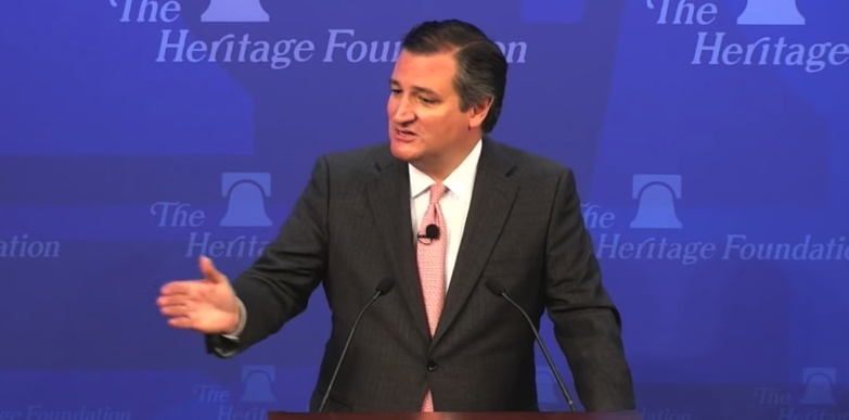 Senador Ted Cruz, Estados Unidos