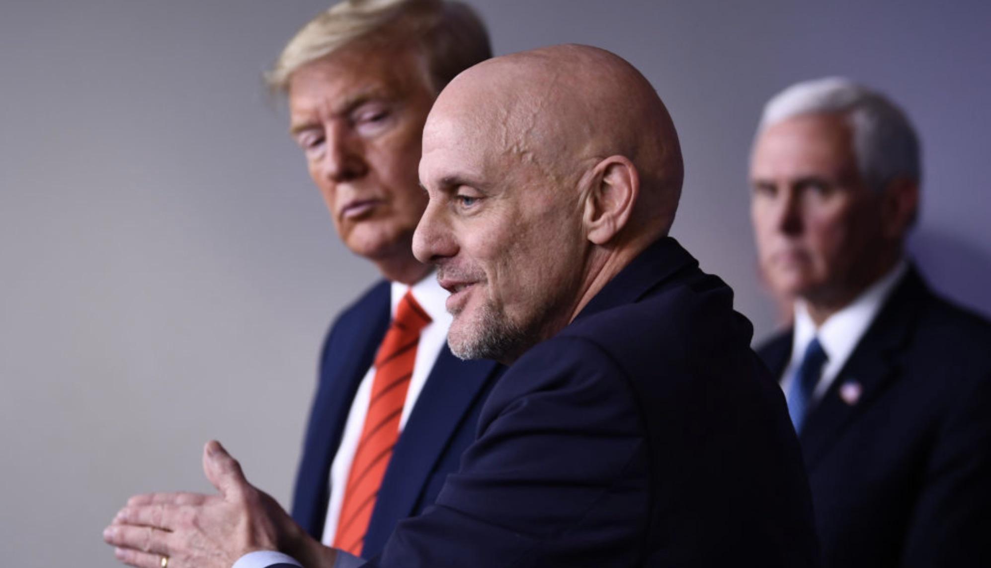 Steve Hahn, Coronavirus, Donald Trump, FDA