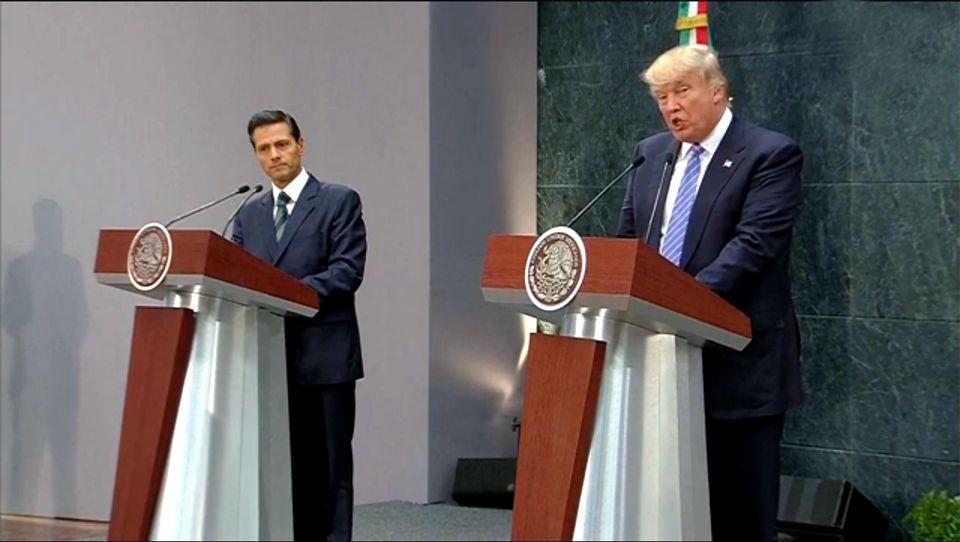 EPN, Trump