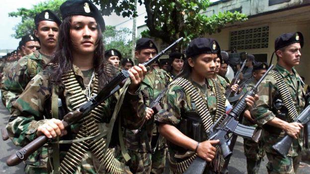 FARC, Colombia