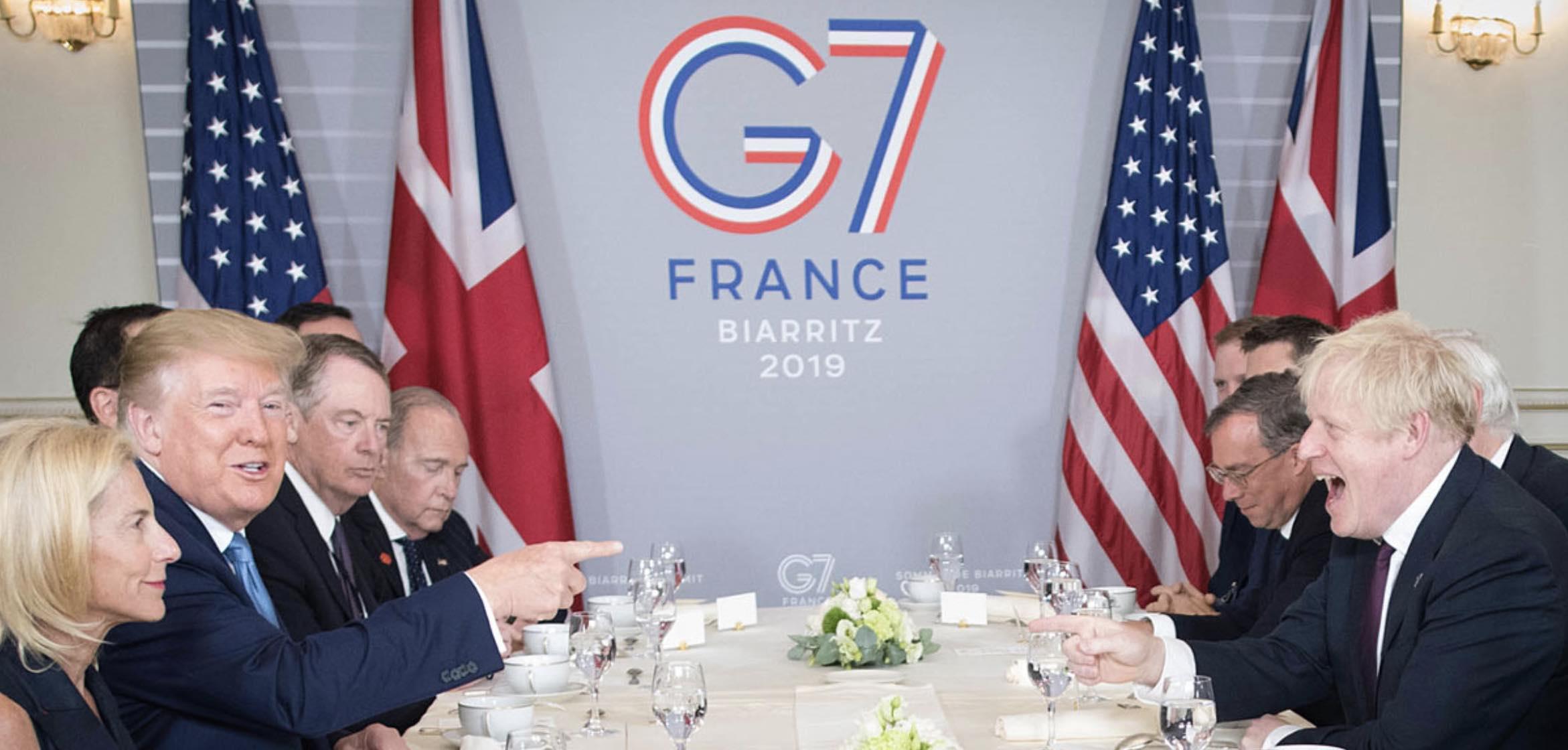 Grupo de los Siete, Reino Unido, Estados Unidos