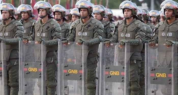 GNB, Venezuela, Genocidio, Represión