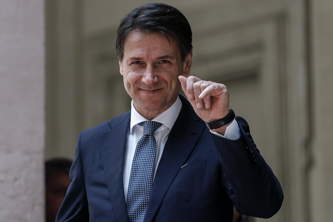 Italia, Giuseppe Conte