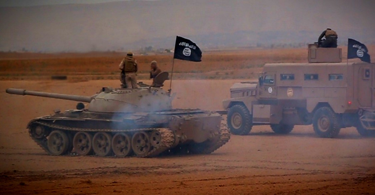 ISIS, tanques