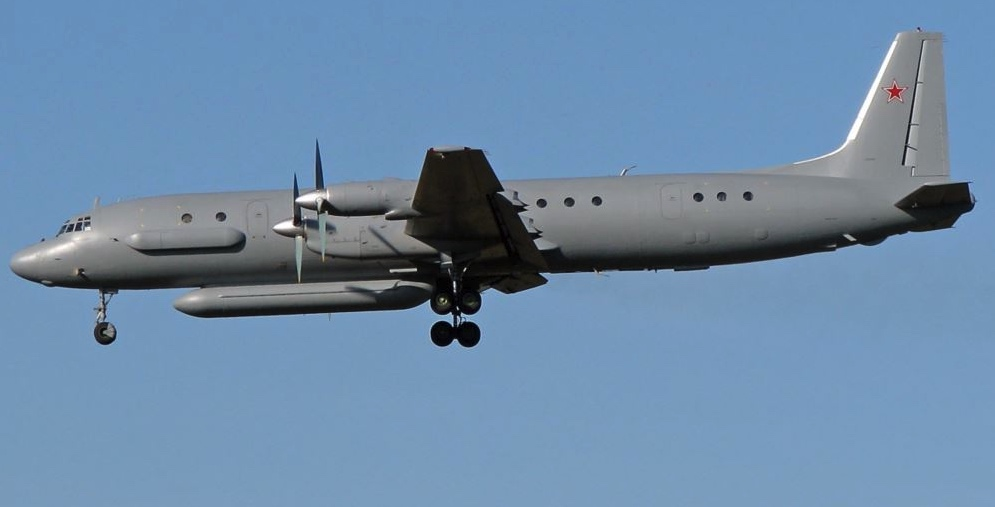 Ilyushin, Rusia, Israel derriba avión ruso