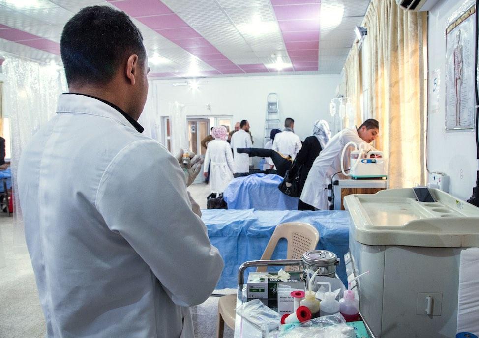Irak, MSF