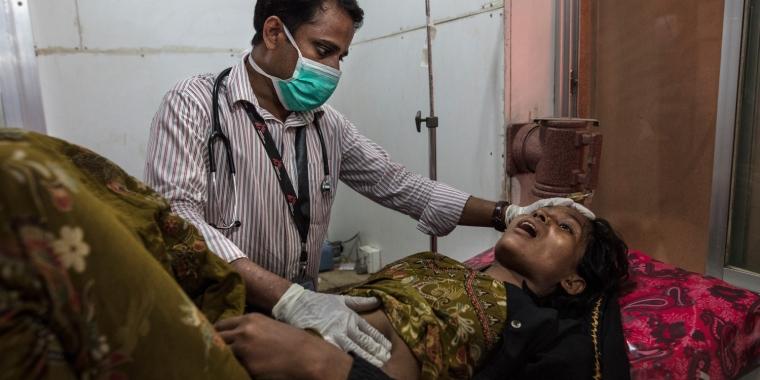 Rohingya, crisis