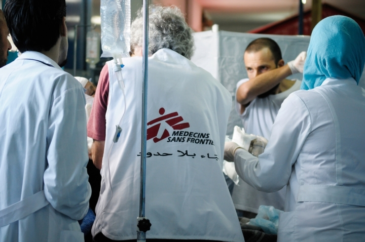 MSF en Siria, Médicos Sin Fronteras