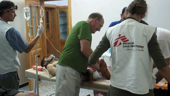 MSF, Siria