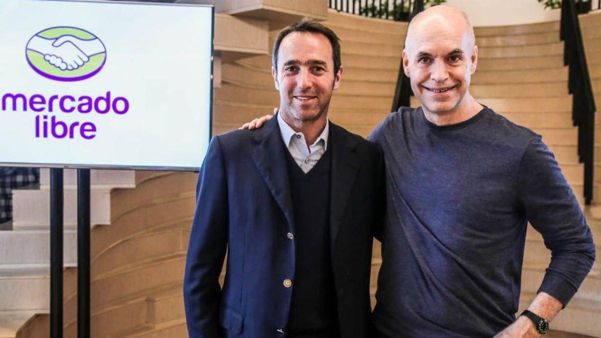 Marcos Galperin y Rodríguez Larreta