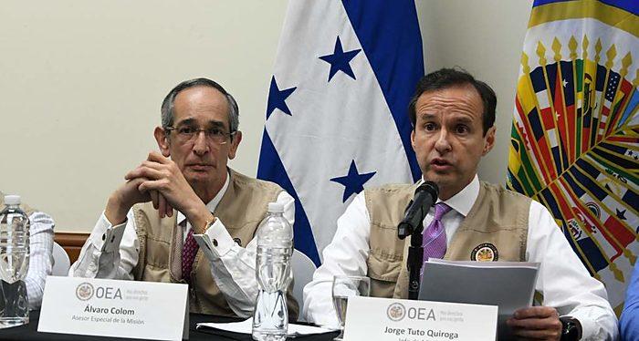 Jorge Tuto Quiroga, OEA