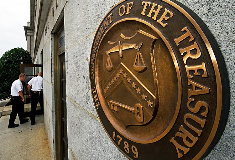 OFAC, Estados Unidos, Treasury