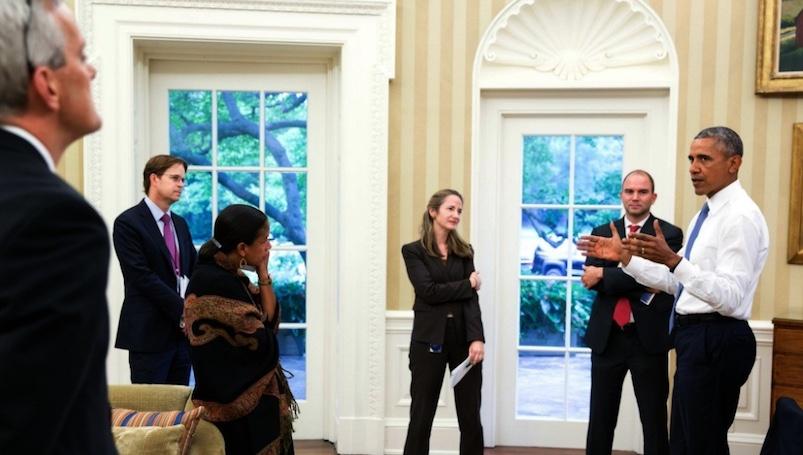 Obama, Casa Blanca