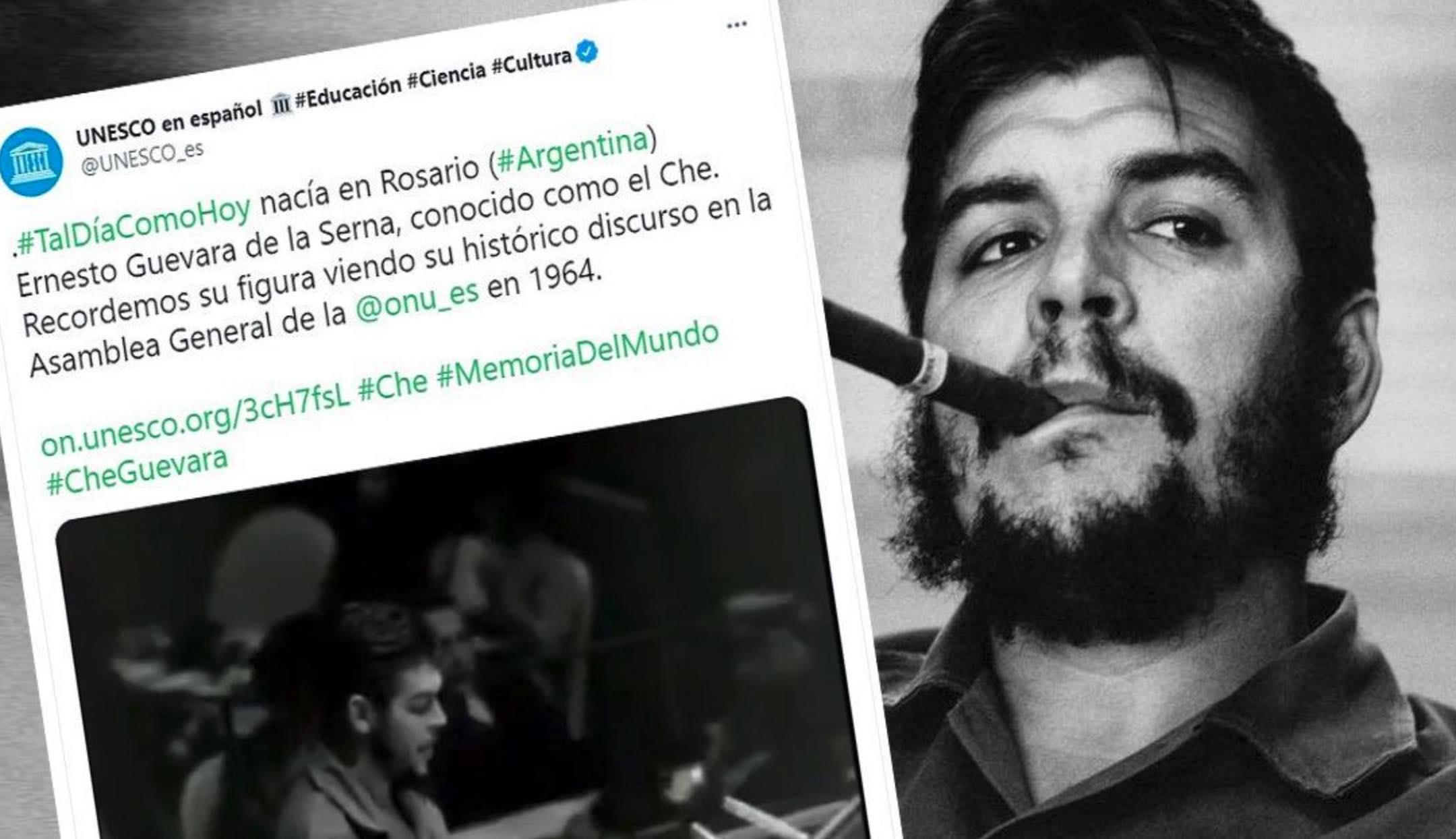 UNESCO, Che Guevara, Genocidio