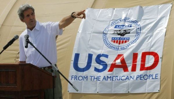 USAID, Kerry