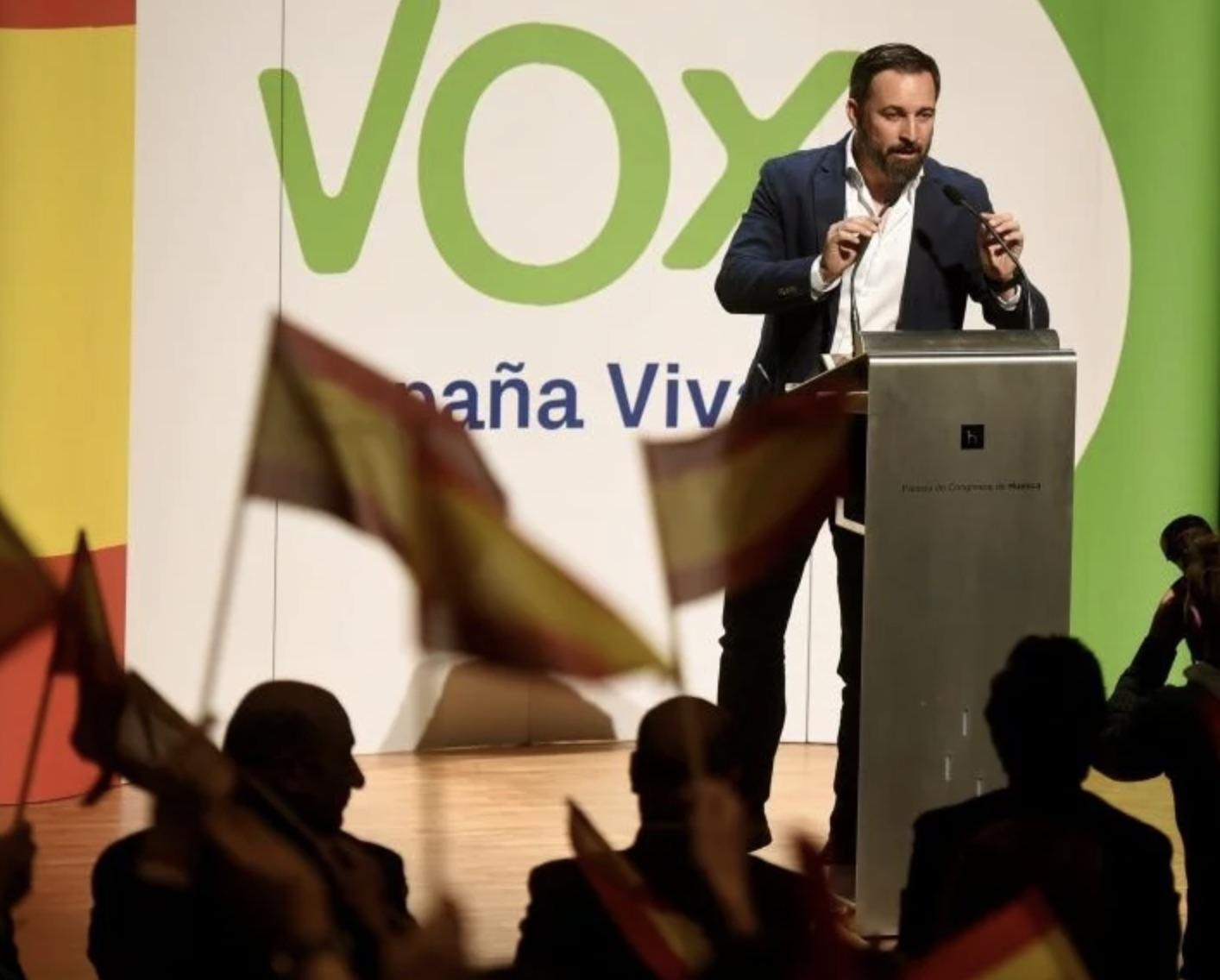 Santiago Abascal, VOX