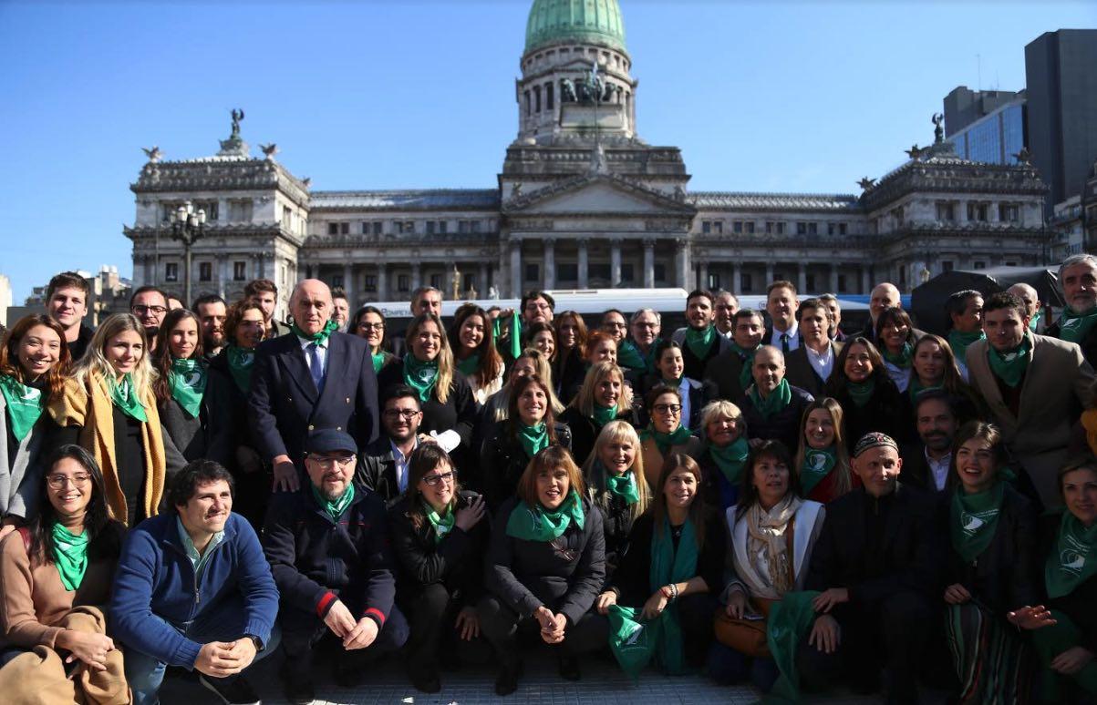 Cambiemos, Legalización del aborto, Congreso de la Nación