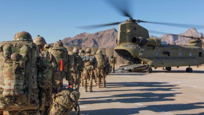 Fuerzas estadounidenses en Afganistán, Retiro