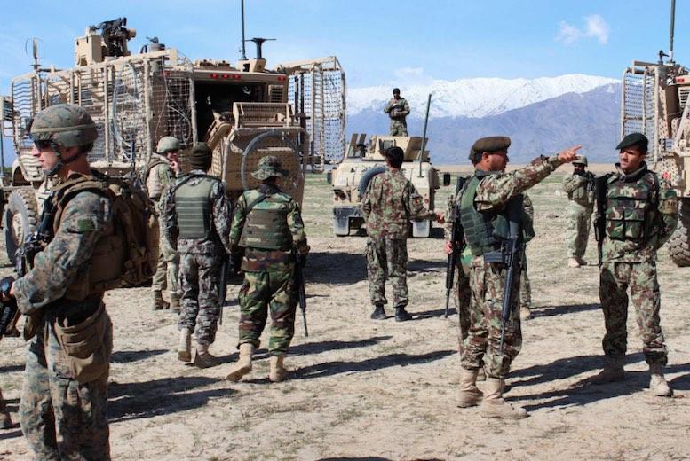 EEUU, Afganistán