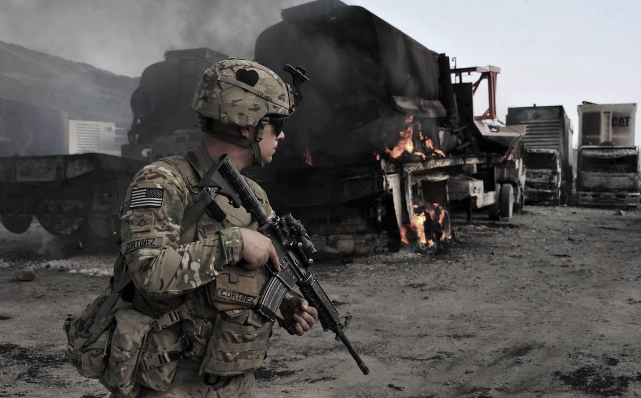 Fuerzas estadounidenses en Afganistán, John Marulanda, Opio, América Latina