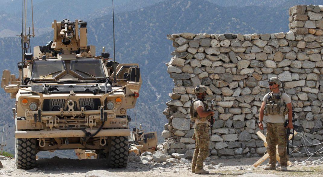 Soldados de Estados Unidos en Afganistán
