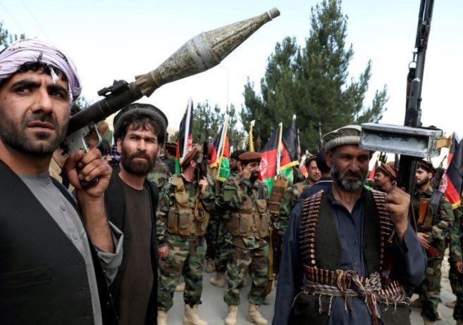 Talibán, Oriente Medio, Geopolítica