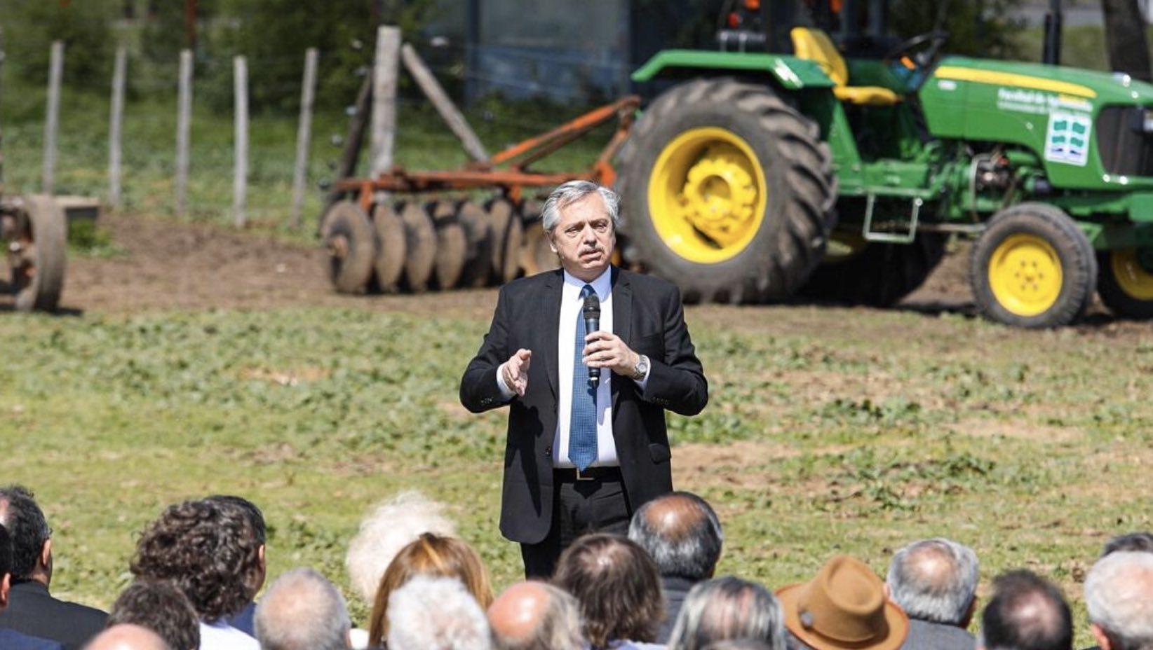 Alberto Fernández, Campaña contra el Hambre