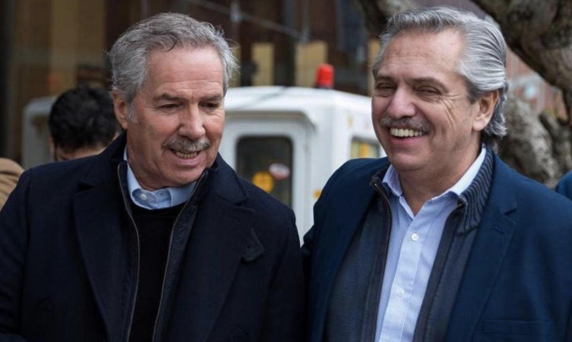 Marcha del 24 de agosto, Alberto Fernández y Felipe Solá
