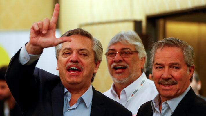 Felipe Solá, Alberto Fernández